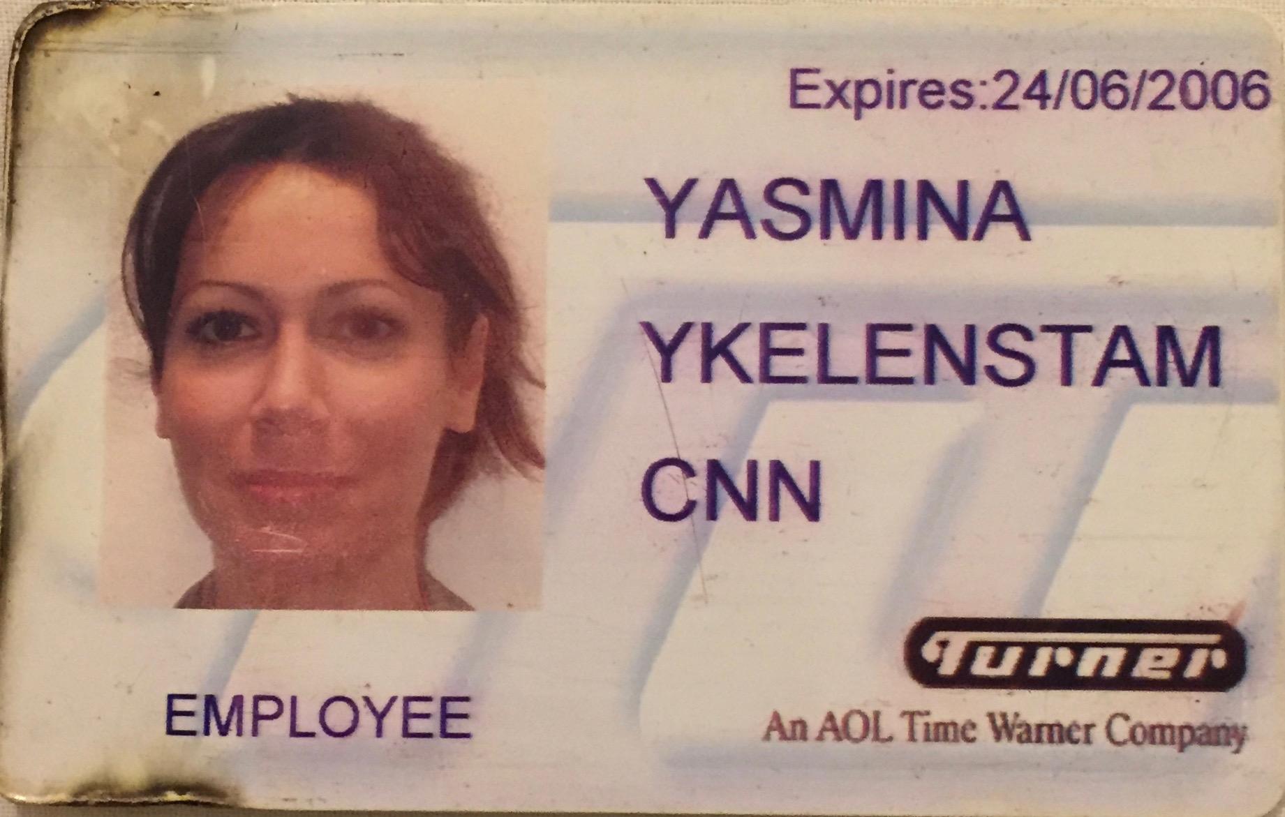 yasmina ykelenstam CNN