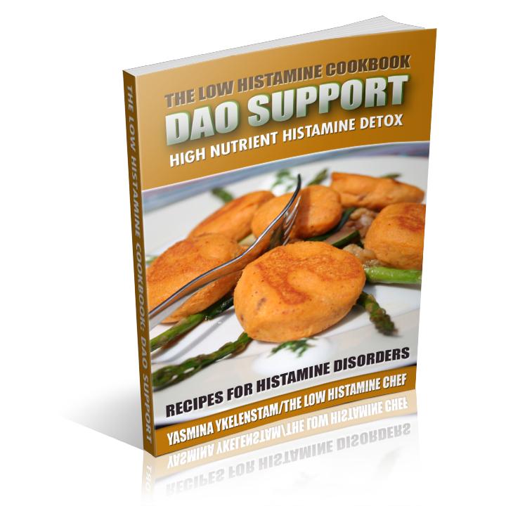 the diamine oxidase low histamine cookbook