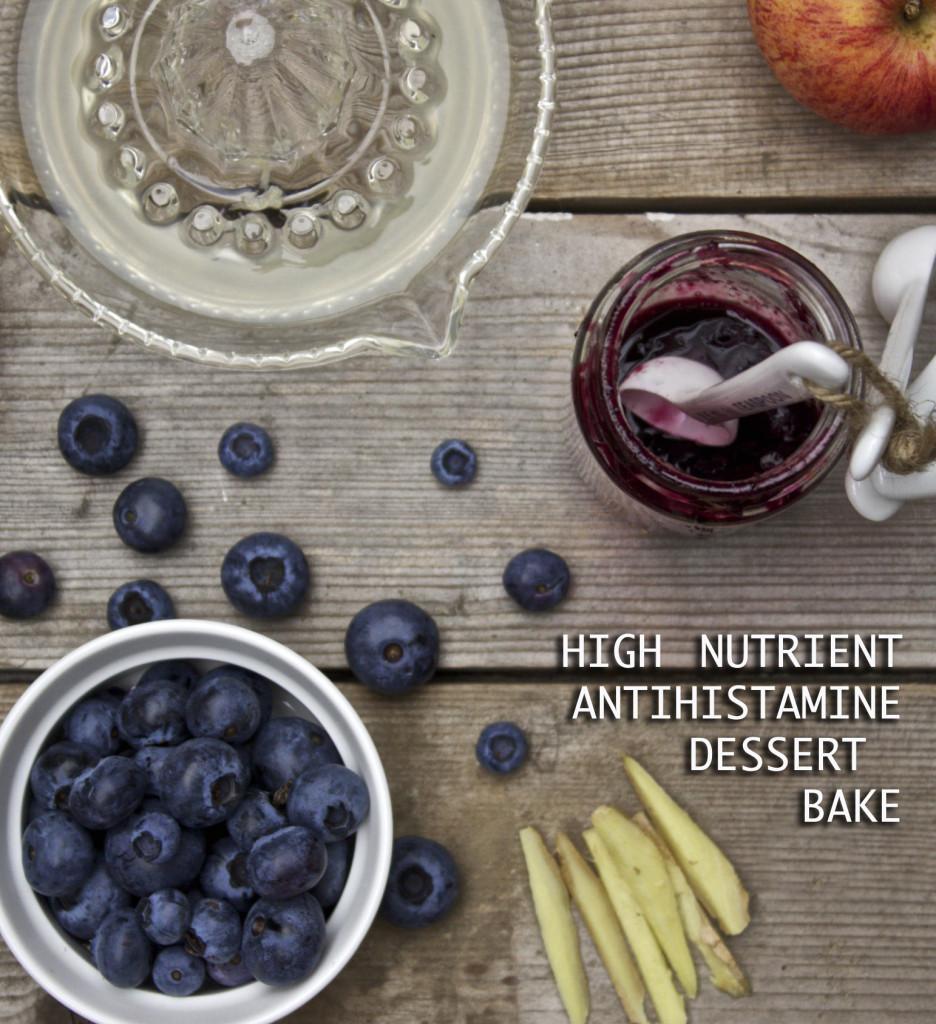 antihistamine dessert bake composite